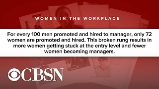 New study finds women left behind in corporate advancement