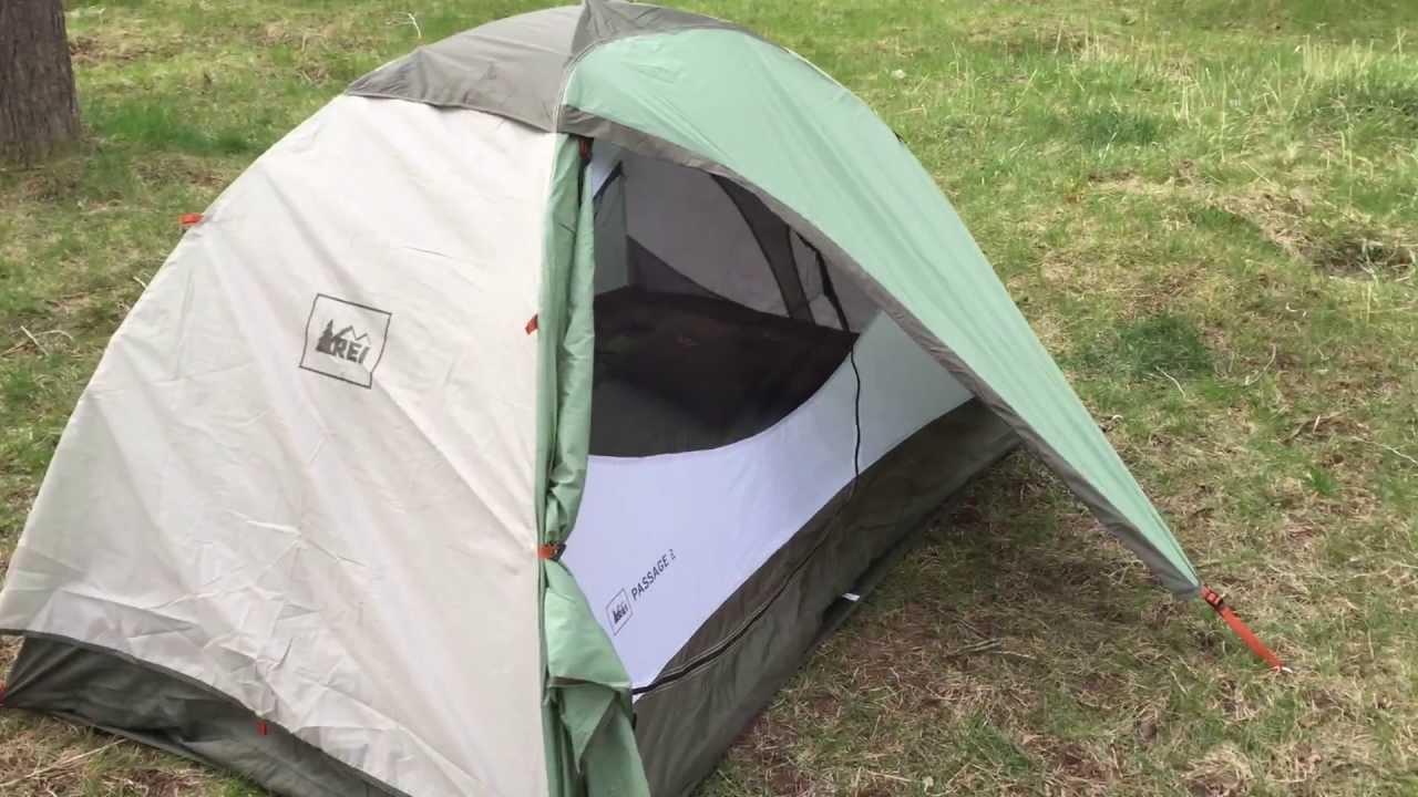 REI Passage 2 Tent Review & REI Passage 2 Tent Review - YouTube