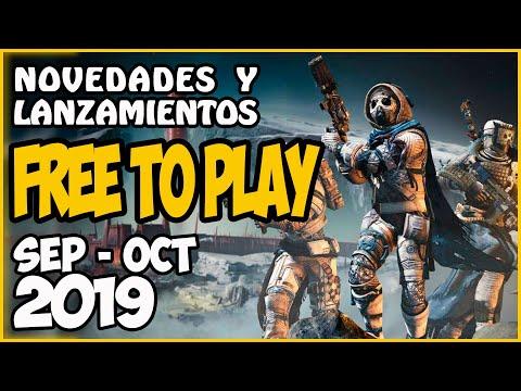 Juegos FREE-TO-PLAY septiembre / octubre 2019 🔥 Lanzamientos y recomendaciones