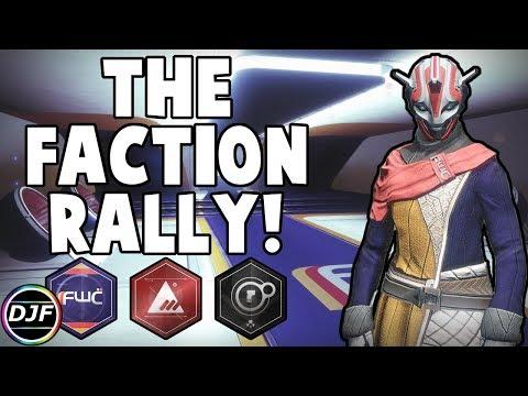 Destiny 2: The Faction Rally! | FWC, New Monarchy, & Dead Orbit Returning!