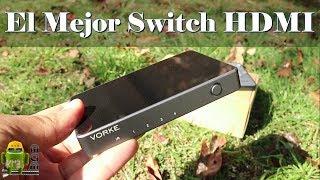 Te Quedaste Sin Entradas HDMI En Tu TV, Convierte 1 en 4 Entradas - Review VORKE HD41 4x1