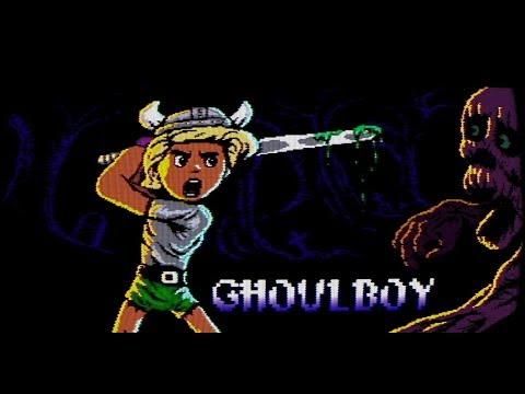 Ghoulboy - gameplay trailer (action platformer metroidvania game)