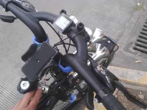 Bicicleta  R 29 con claxon de tren