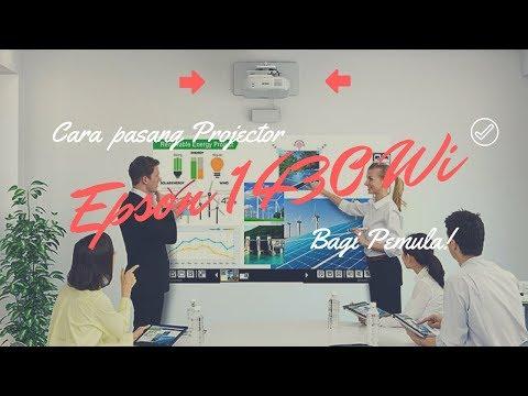 Daily Worker #Pasang Projector EPSON EB 1340 Wi at SinarMas