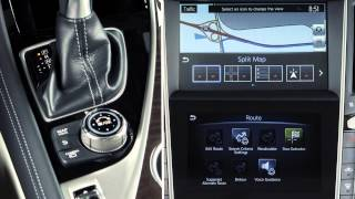 2014 Infiniti Q50 HEV -  Dual Display
