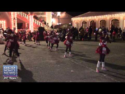 St George's Dancerettes At St George's Santa Claus Parade, December 13 2014