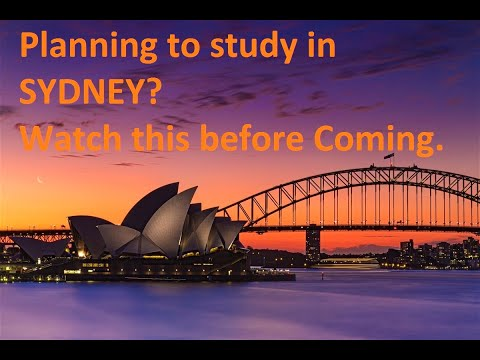 Information for students planning to study in Sydney & Melbourne