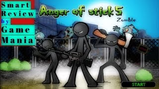 Anger of Stick 5: ZOMBIE Smart Reviews By Game Mania [URDU/HINDI].