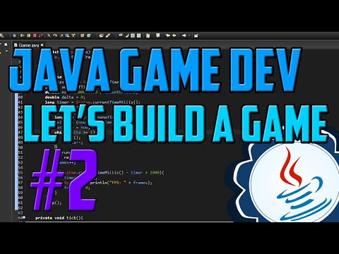 Java Programming: Let's Build a Game #2