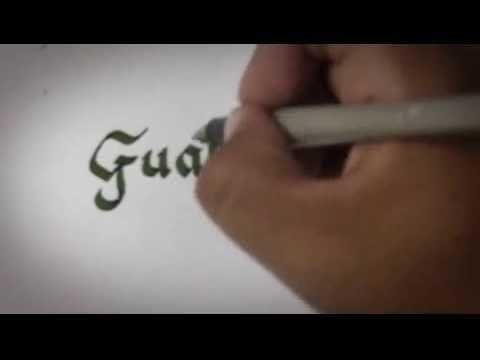 ART CALLIGRAPHY Guatemala