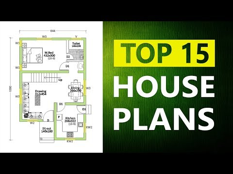 Beautiful Modern House Plans TOP 15
