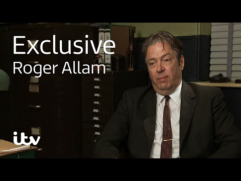 Endeavour Roger Allam  Behind the s  ITV