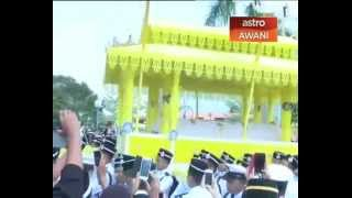 The late Sultan Azlan Shah laid to rest at Royal Mausoleum