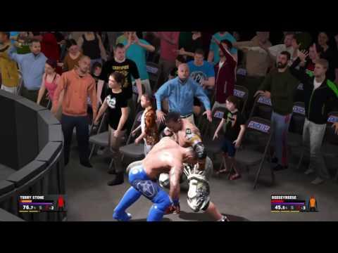 WWE 2K17 Reese vs Terry Stone pt 1