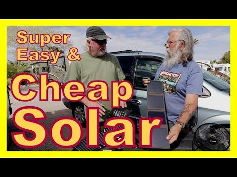 Super Easy and Cheap Solar USB Powered Products