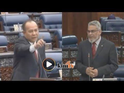 Shah Alam, Putatan 'bertikam lidah' di Dewan Rakyat