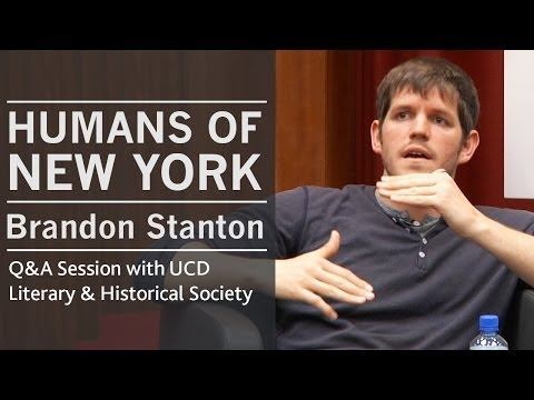 On approaching tourists in New York | Humans of New York creator Brandon Stanton