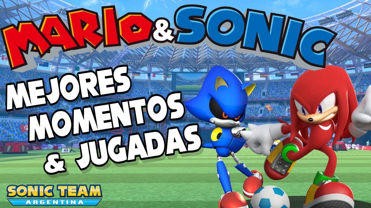 Mario & Sonic - Mejores Momentos & Jugadas