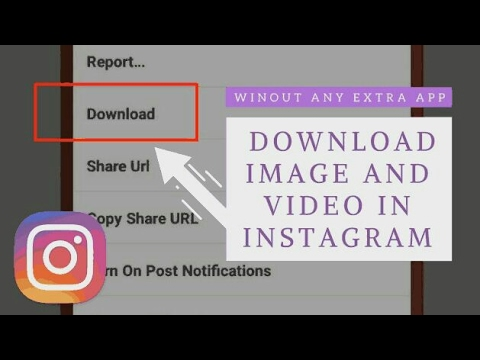 Can i download my images from instagram