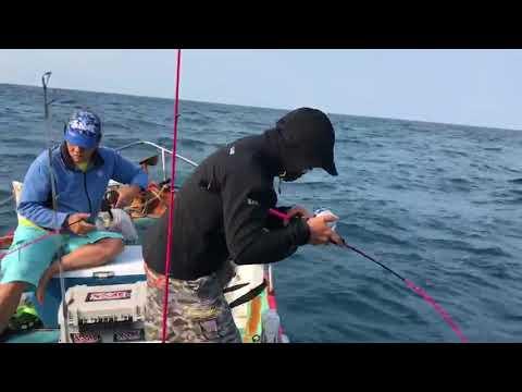 SAME Fishing Internationl 2018 Slow Jigging In Taichung Taiwan