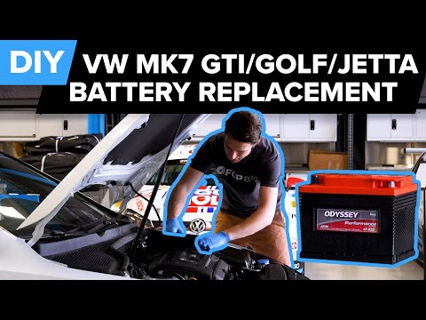 How To Replace The Battery On A Mk7 Volkswagen GTI – DIY – (MQB Platform – Jetta, Beetle, & More)