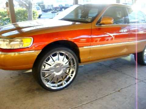 Slab O Donk Lincoln Towncar On 26s For Sale Video San Antonio