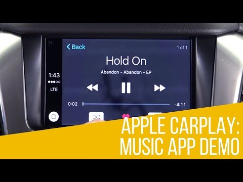 Apple CarPlay: Music App Demo