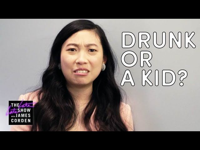 Awkwafina Plays the Game 'Drunk or Kid'