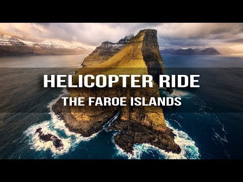 Landscape Photography GUIDE to The Faroe Islands - Helicopter Ride