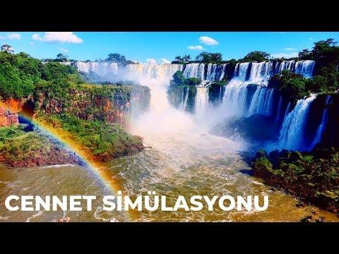 Cennet Simülasyonu Gibi Yer: Iguazu Şelalesi