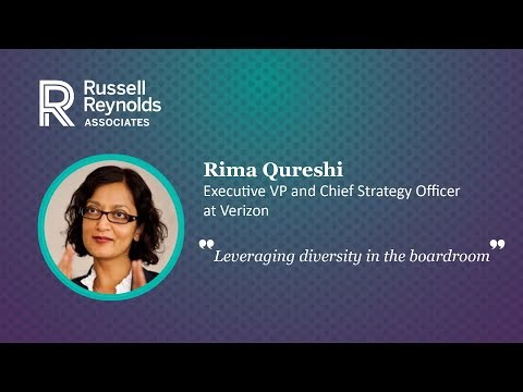 "Rima Qureshi - ""Leveraging diversity in the boardroom"""