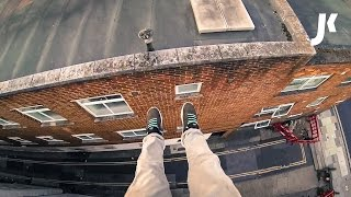 POV Rooftop Parkour in Southampton | James Kingston: POV Adventures