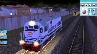 Proses Penyambungan Gerbong K3 Serayu Malam TS 2009
