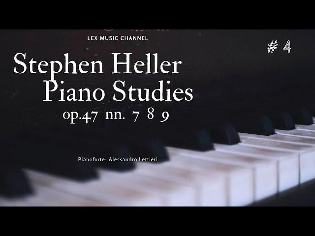 Stephen Heller - Piano Studies - Op. 47 nn. 7, 8 e 9