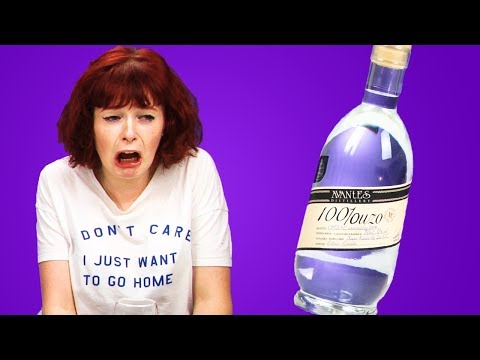 Irish People Taste Test Greek Alcohol