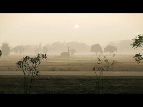 Morning view of a Village in Odisha
