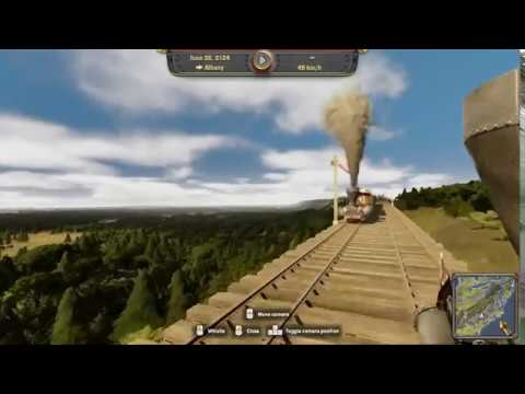 Railway Empire: Charlotte - Albany Highland Route |