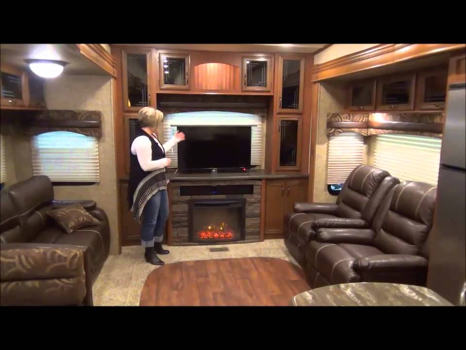 2015 Sandpiper 371 Rebh By Forest River Youtube