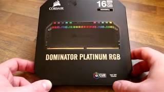 Corsair Dominator Platinum RGB DDR4 Memory Review