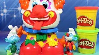 Play Doh • Smerfy • Klaun • bajki dla dzieci