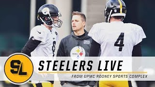 Shaun Suisham Coaches Boswell on FG Technique & Pats Scouting Report | Steelers Live