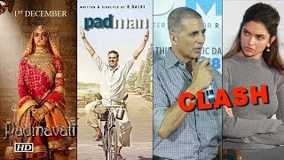 Padmavat OR Padman   Akshay-Sonam speak about the CLASH