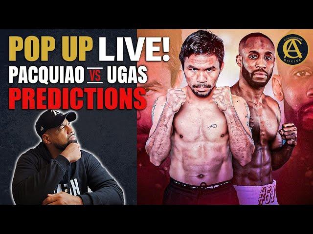 Manny Pacquiao vs Ugas Predictions