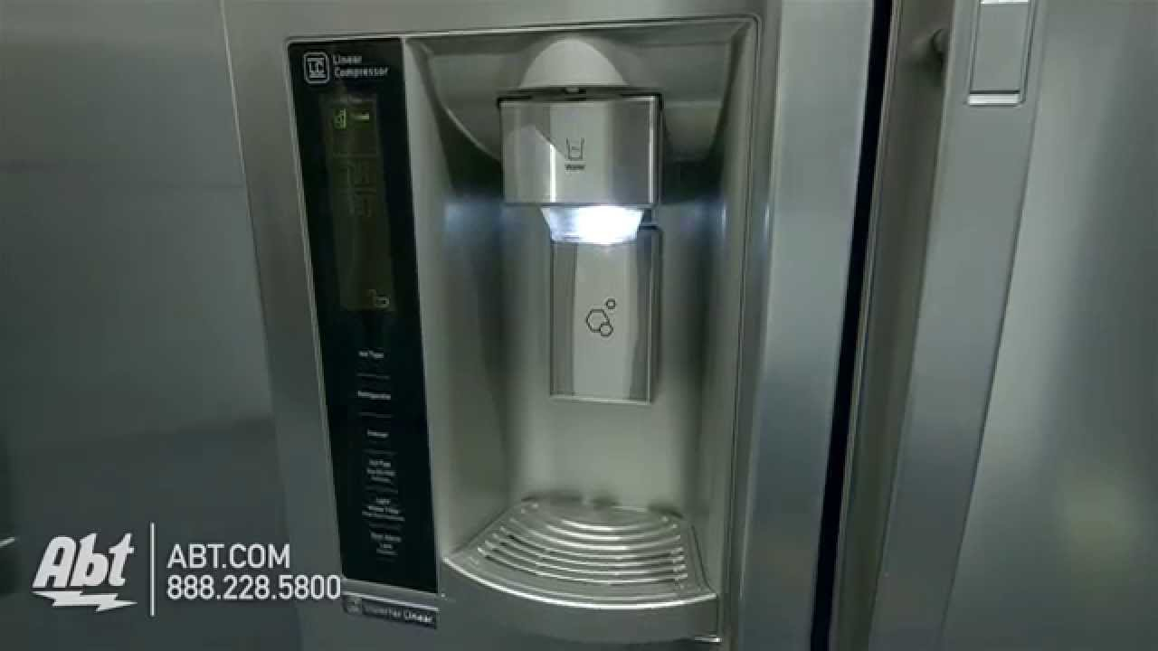 Lg Stainless Steel Side By Side Refrigerator Lsxs26366s