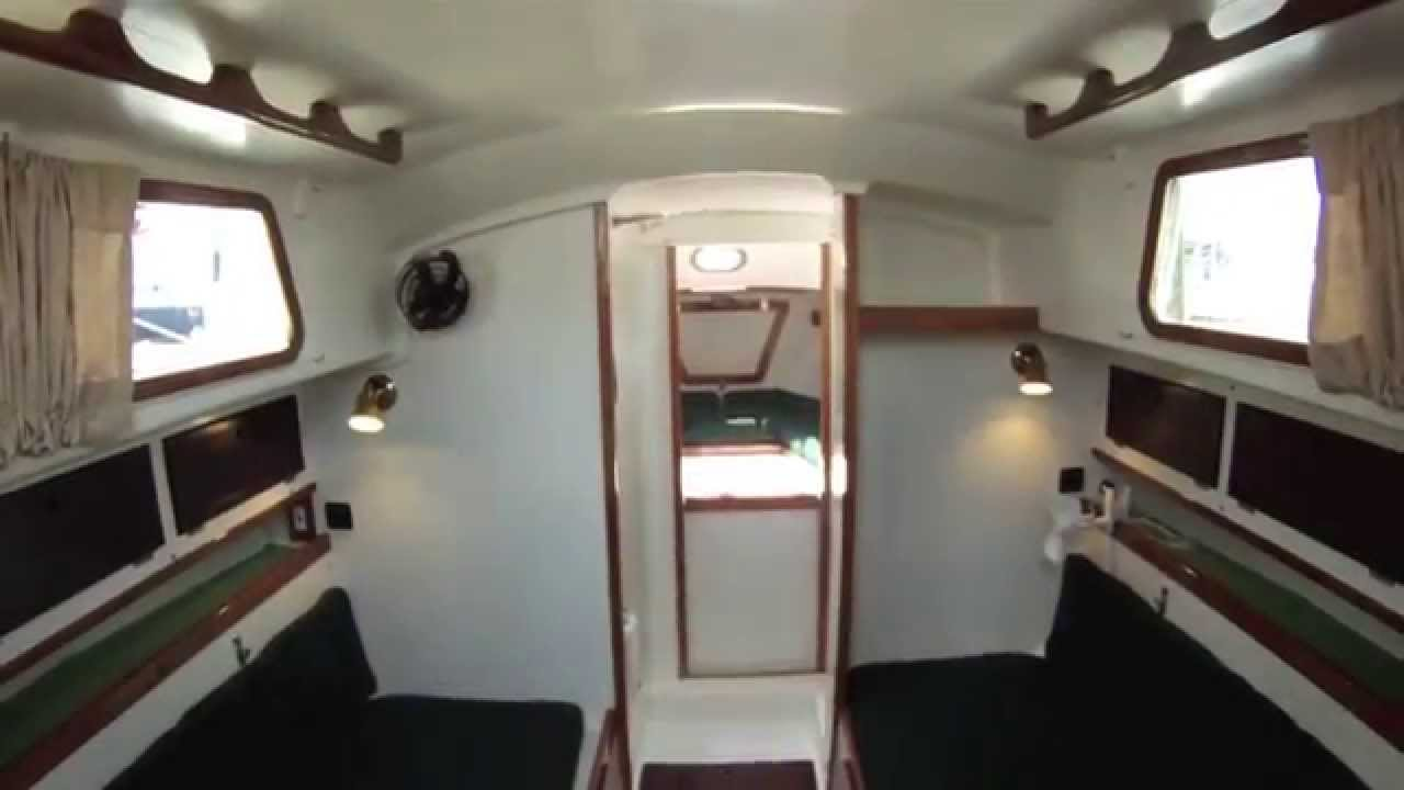 1972 Alberg 30 Refit Part Two Interior Youtube
