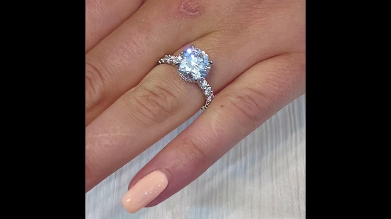 2.5 carat Round Diamond Signature Wrap Ring