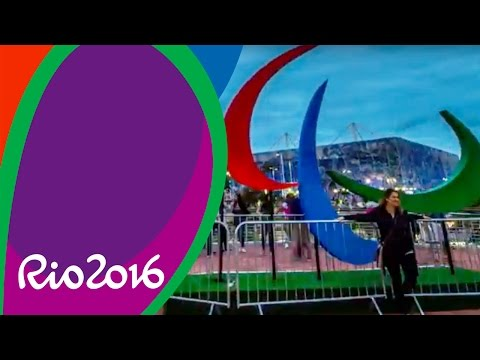 Time-lapse - Agitos Paralímpicos no Parque - Rio 2016