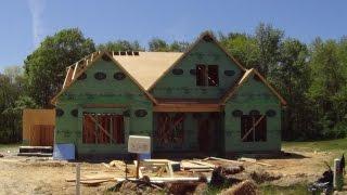 54 Строительство Каркасных домов в США. Шарлотте Северная Каролина.