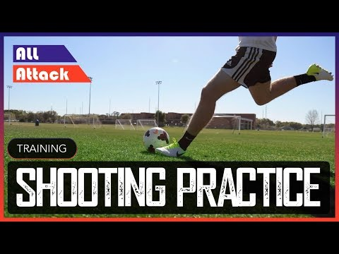 How to Shoot a Football! | Practice Tips