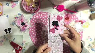 Valentine's💘 Day DIY Loaded Happy Mail Envelope Ideas - Snail Mail or Penpal Tips - YennyStorytale